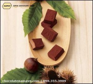 Nama Chocolate Marron hạt dẻ Nhật bản