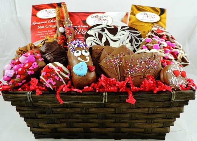 All My Love Valentines Gift Basket