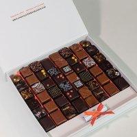 "Coffret-de-48-bonbons-de-chocolat-""Mexique"""