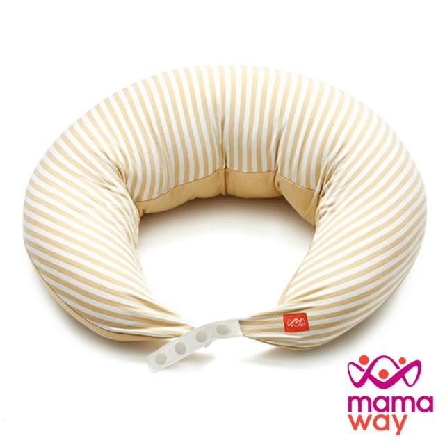 【mamaway 媽媽餵】智慧調溫抗菌萬用枕-月亮枕