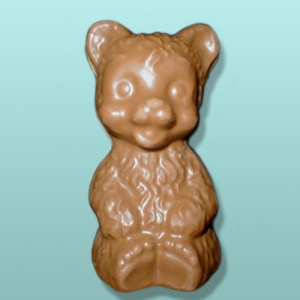 3D Chocolate Fuzzy Teddy Bear