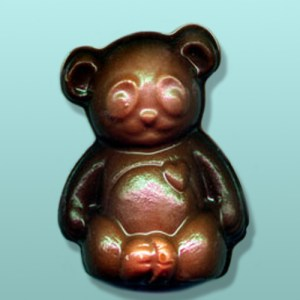 3D Chocolate Panda Bear Small