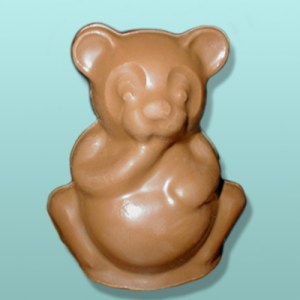 3D Chocolate Panda Bear Large