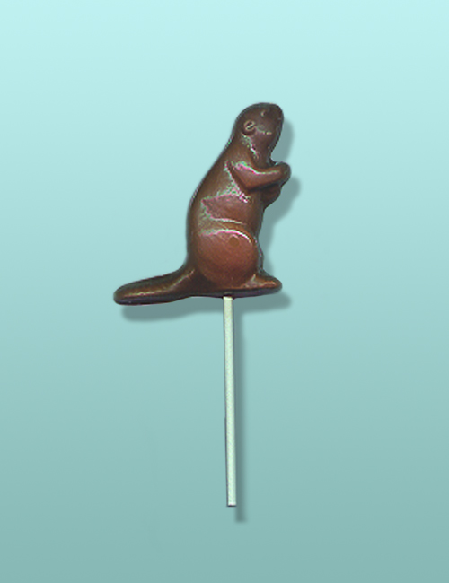 Chocolate Beaver Party Favor