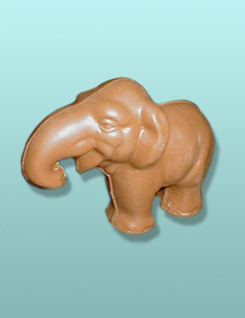 3D Chocolate Peanut Elephant