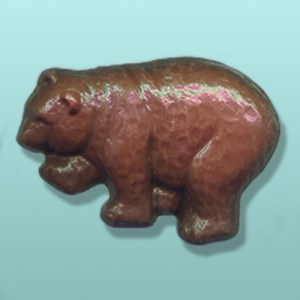 Chocolate Grizzly Bear Party Favor