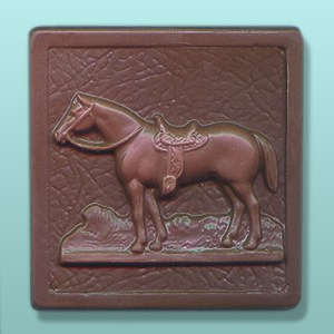 Chocolate Horse II Plaque