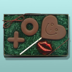4 pc. Chocolate Valentine Gift Set