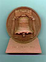 Liberty Bell Plaque