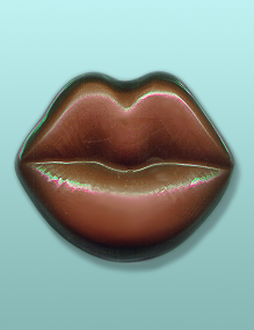 Chocolate Pucker Up Lips