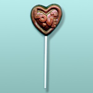 Chocolate Love Heart Favor