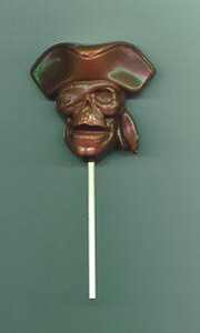Captain Skull Lolly Favor