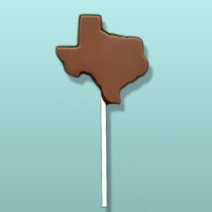 Chocolate Texas State Party Favor