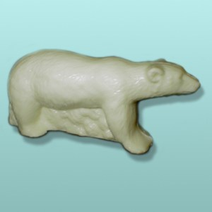 3D Chocolate Polar Bear