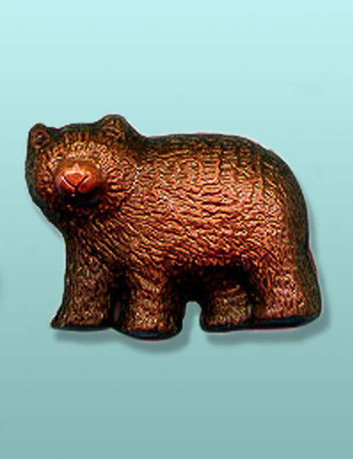 Chocolate Woodsy Black Bear Favor