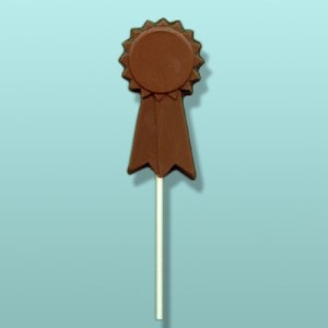 Chocolate 1st Place Ribbon Party Favor