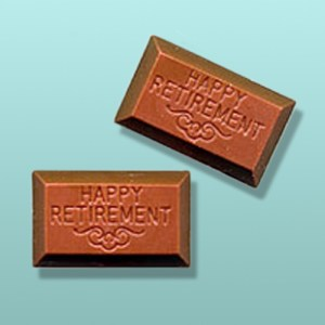 2 pc. Chocolate Retirement Party Favor