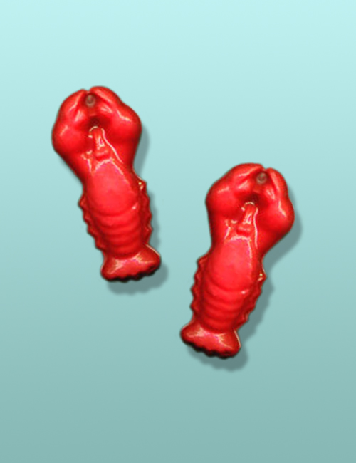 2 pc. Chocolate Lobster Mini Favor