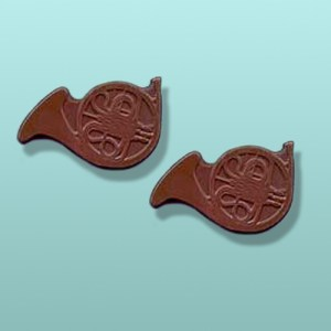 2 pc. Chocolate French Horn Favor