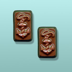 2 pc. Chocolate Ships Anchor Favor