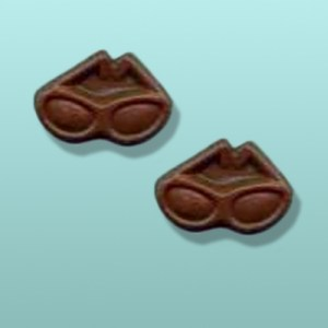 2 pc. Chocolate Sun Glasses Mini Favor