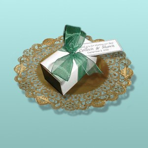 Chocolate Truffles White Box