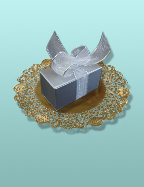 Chocolate Truffles Silver Box