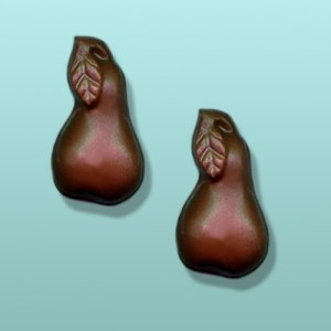 2 pc. Chocolate Pears Mini Favor
