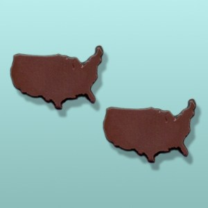 2 pc. Chocolate United States Favor