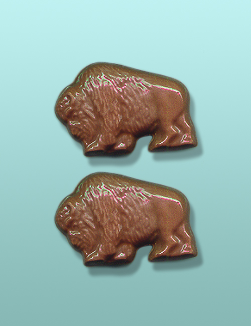 2 pc. Chocolate Buffalo Mini Favor