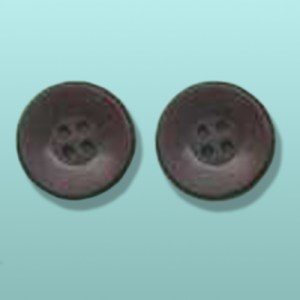 2 pc. Chocolate Buttons Party Favor