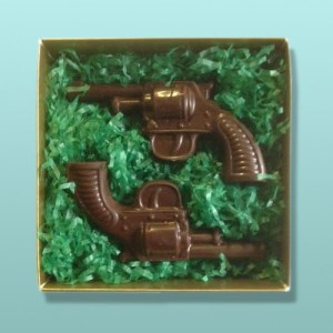 Chocolate Dueling Pistols Gift Set