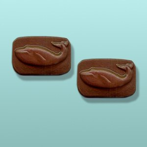 2 pc. Chocolate Whale Party Favor