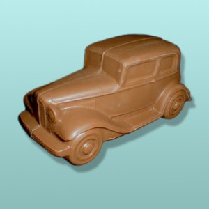 3D Chocolate Gangster Model A Car