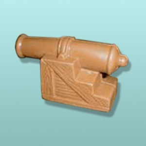 Chocolate 3D Military Cannon