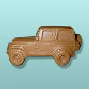 3D Chocolate Military Jeep II