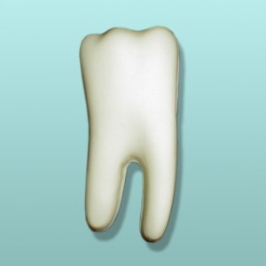 3D Chocolate Tooth Molar II