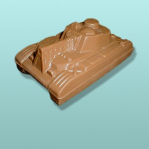 3D Chocolate Military Tank