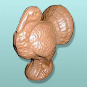 3D Chocolate Turkey Large