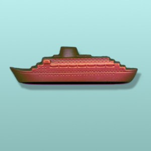 3D Chocolate Cruise Ship