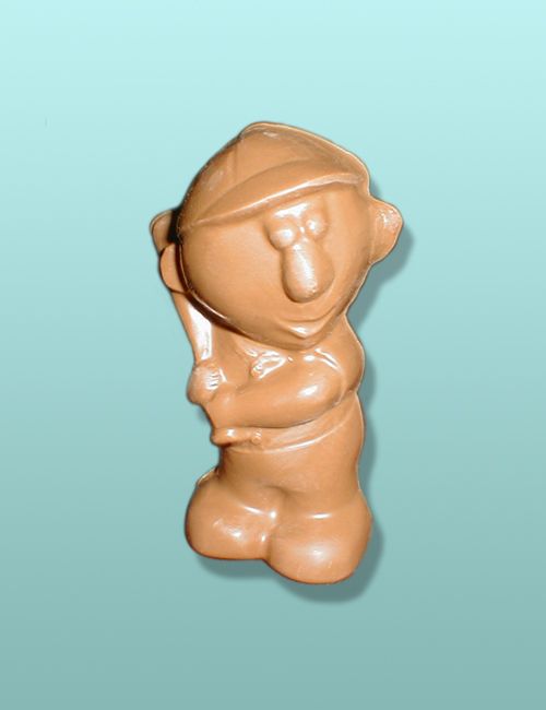 3D Chocolate Baseball Barney Batter Up