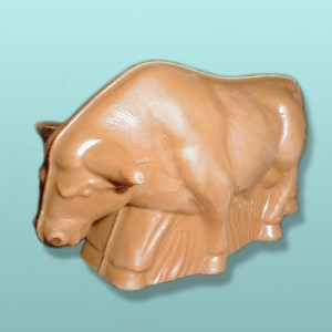 3D Large Chocolate Bull