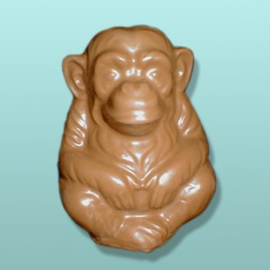 Chocolate Large Sitting Chimp