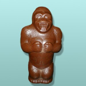 3D Chocolate Giant Gorilla