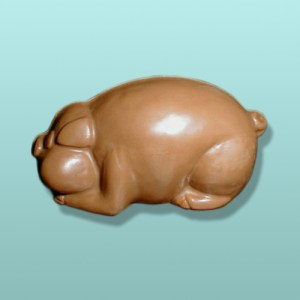 3D Chocolate Sleeping Piggy