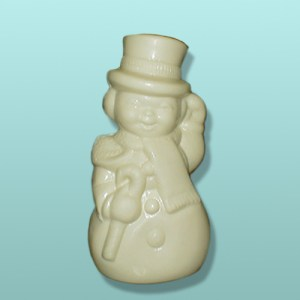 3D Semi-Solid Chocolate Snowman