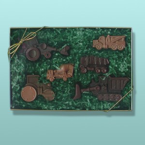 6 pc. Chocolate Vehicle Gift Set