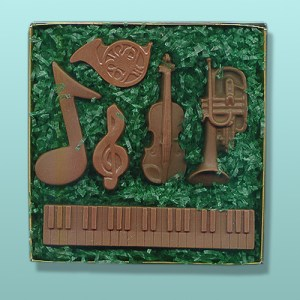 6 pc. Chocolate Musical Instrument Gift Set II