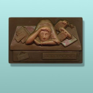 Chocolate Accountant Plaque