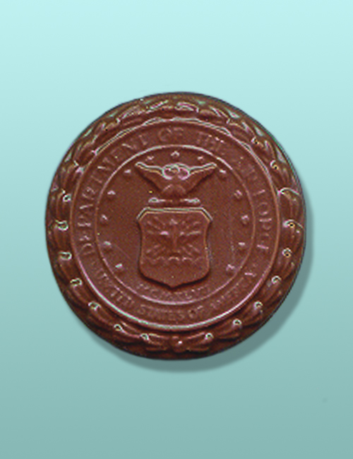Chocolate Air Force Medallion Favor